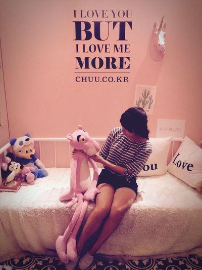 Pinkpanther Pink Color It's Me Hello World Hongdea Iphone 5 IPhoneography Iphone Eyeem Korea