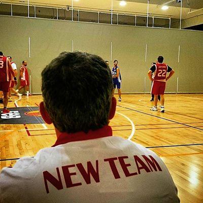 New Team! No! Los Santos New Team! ;-) Lossantosbasket Domingotarde Domingobasket XperiaZ1 weareone baloncesto exnba deporte sportd