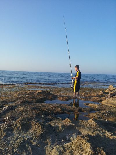 Fishing My Cousin #summer #beach