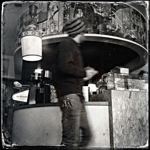 AMPt_community Bw_collection NEM Black&white Coffee Shop Scene