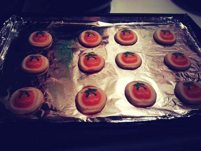 Halloween Cookies Pillsbury for my baby girl's birthday tomorrow. ???