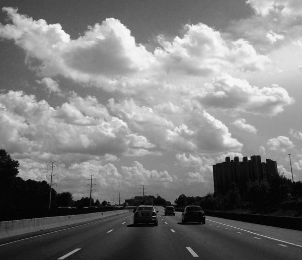 Keep moving forward. Leave the past behind. The future lies ahead, not behind. So stay focused. On The Road Streetphotography Clouds And Sky Clouds Sky Blackandwhite Black And White Blackandwhite Photography Transportation Traveling Cloudscape Nature Nature Photography Nature_collection Naturelovers Hello World Popular Photos EyeEm Nature Lover EyeEm Best Shots EyeEm Gallery Followme Follow4follow Outdoors No People Scenics