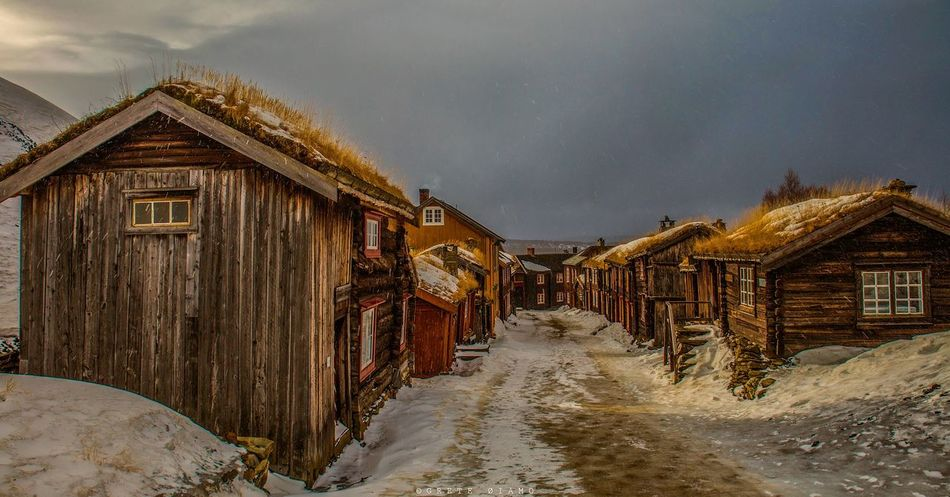 Sleggveien, Røros Røros Norway Architecture Cityscapes Eye4photography  Landscape_Collection City Collection EyeEm Best Shots