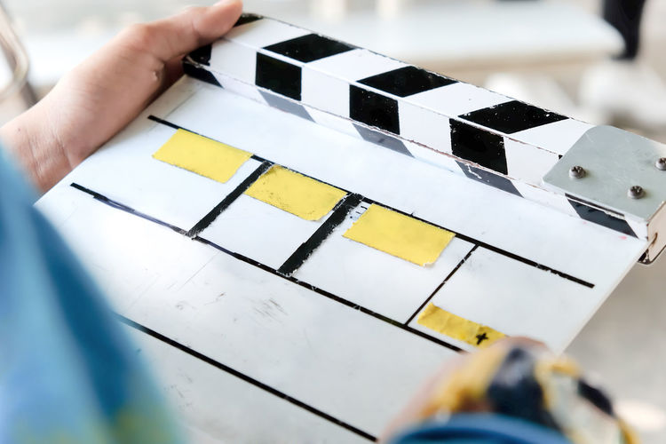 behind the scene,film slate and film crew production set Advertising Behind The Scene Behind The Scenes Filming Broadcast Broadcasting Clapper Clapper Board Clapperboard Close-up Film Crew Film Industry Film Slate Filming Location Holding Human Hand Photographing Photography Themes