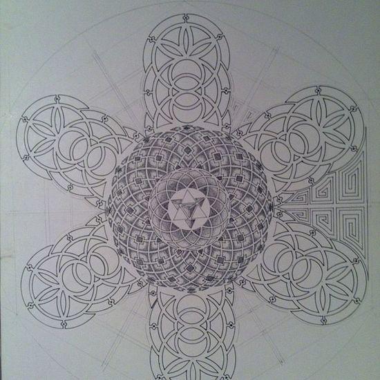 Sacredgeometry Dots Lines Love merkaba toroid progress nomoreuntillitsfinished