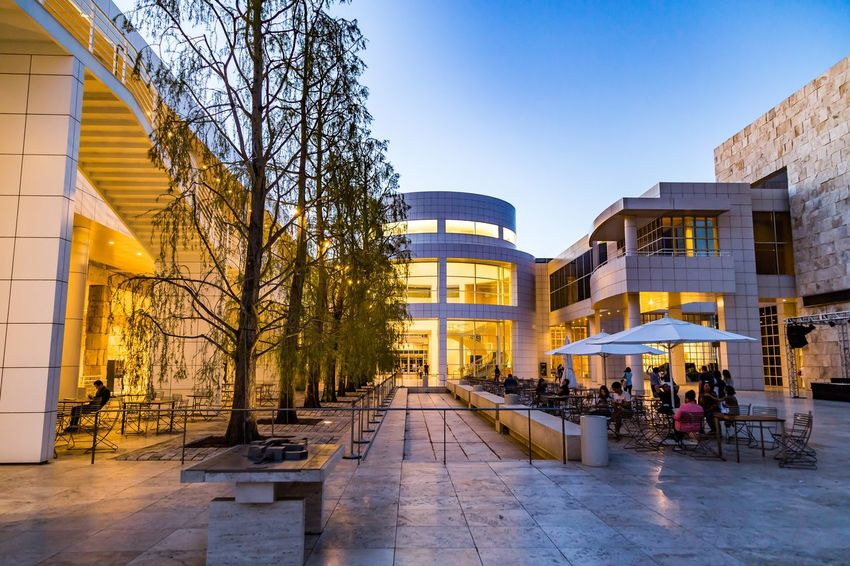The Getty Series: Museum Courtyard, at the Blue Hour This courtyard had such a great ambiance in the evening hours, with the green space, beautiful architecture on all sides, and wonderful lighting. Architecture Architecture_collection Architecturephotography Losangeles Art Thegettymuseum Greenspace The Architect - 2016 EyeEm Awards