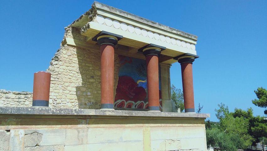 Crete Greece Knossos Minoan Architecture