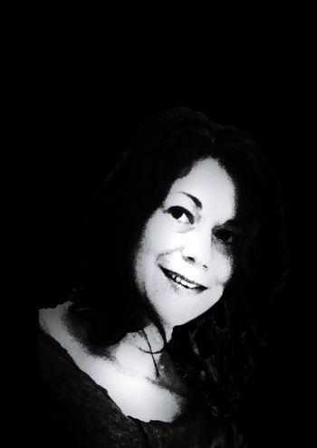 Selfie Portrait Black & White