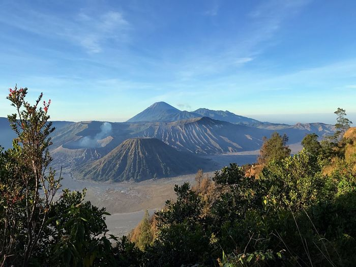 Bromo Bromo-tengger-semeru National Park Beauty In Nature Mountain Range Landscape