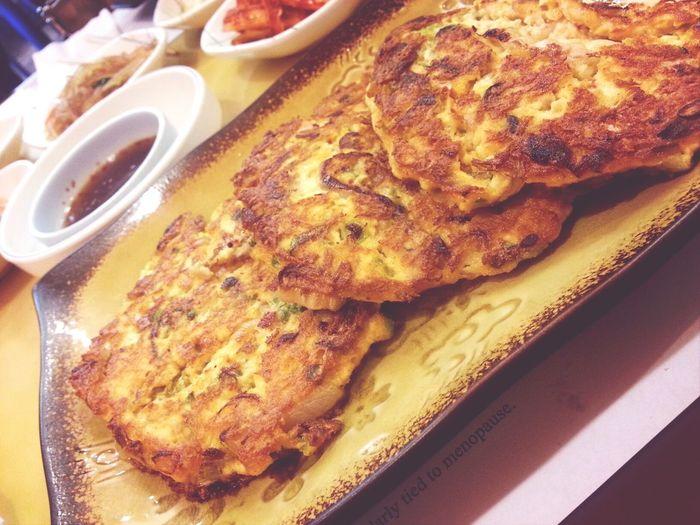 korean pancake♥