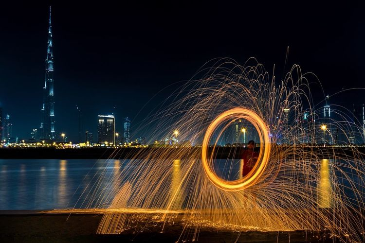 Steel Wool Photography in Dubai with my brother Lefoox1318 Tag some one who loves steel Wool Photography. Taking Photos Justgoshoot That's Me