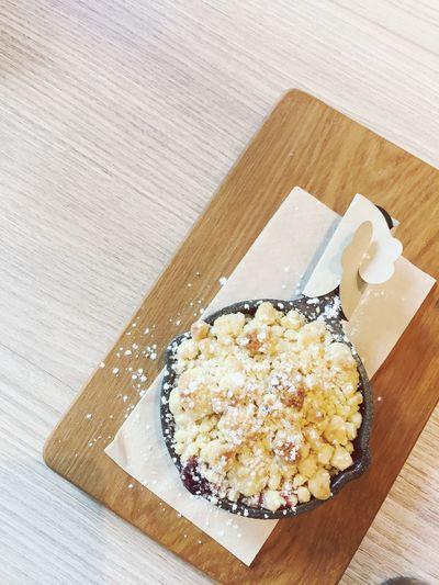 Dessert Pan Wooden Wood - Material Sweet Crumble