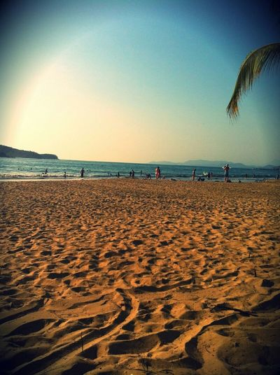 Beach Horizon Over Water Vacations Clear Sky Nature Beauty In Nature Travel Destinations Mazatlan🌊 Water Diversion Vacations Multi Colored