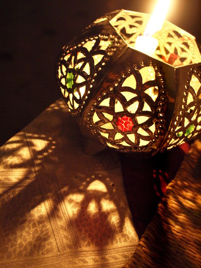 Candle Light Candlelight Decor Decoration Illuminated Lamp Lamps Lamps And Shadows Lampshade Light And Shadow Moroccan Style Morocco Romantic