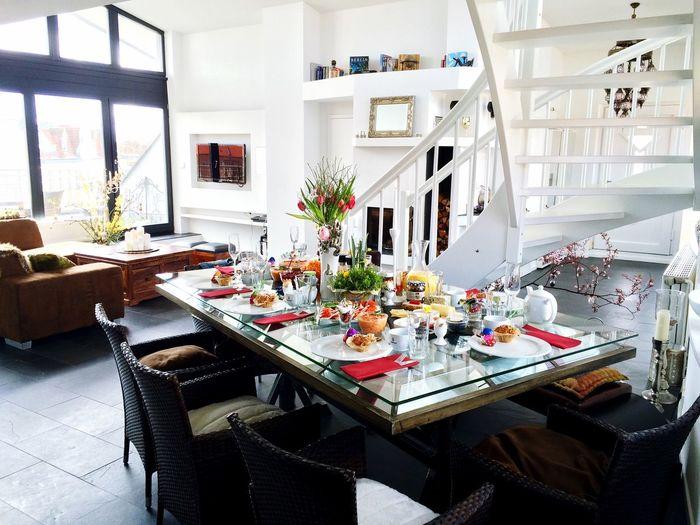 Osterbrunch in der CrazyBunnyWG Sonntagsfrühstück Geiler Tag Architecture Apartment Home Home Sweet Home Enjoying Life