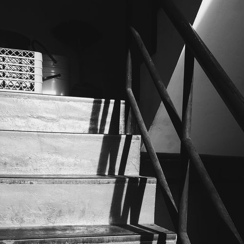 Steps And Staircases Staircase Steps Fireexit Indoors  Day No People The Week On EyeEm
