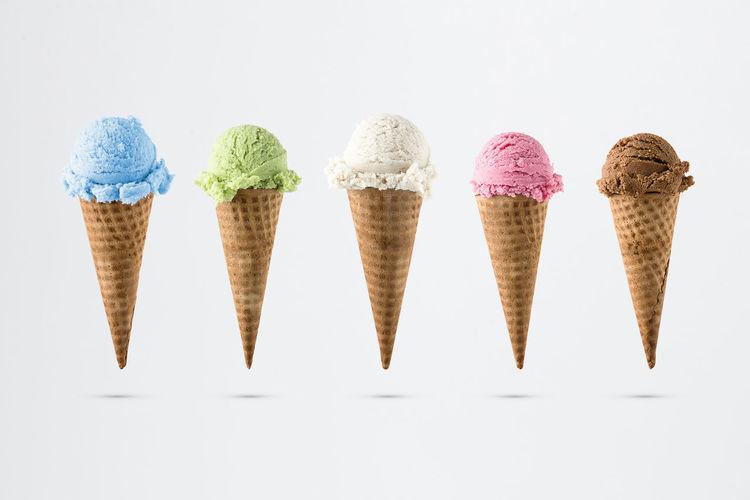 Variety of ice