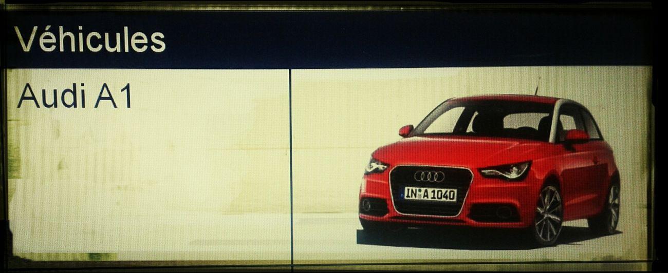 Work Audi Audi A1