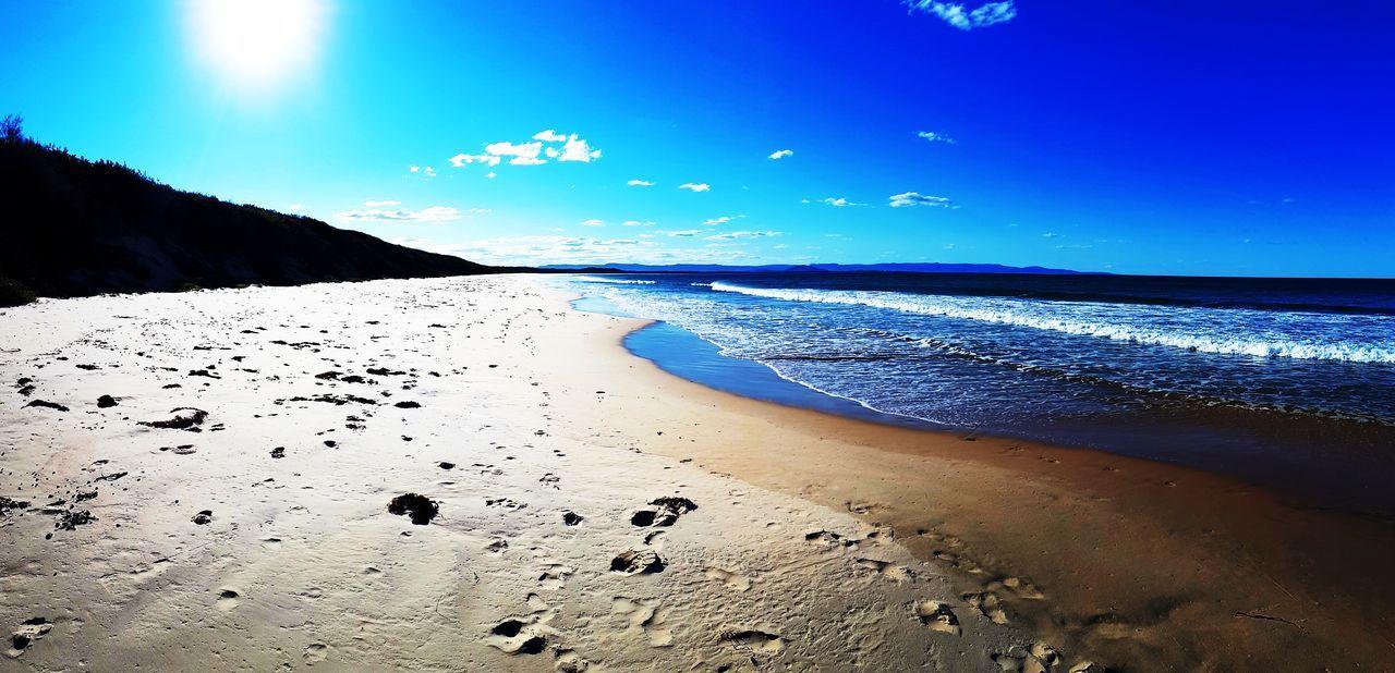 Sea Beach Sand Beauty In Nature Horizon Over Water Travel Destinations Summer Water Sunset Wave Surf Travel Australia NSW Australia EyeEmNewHere No People Beach Panorama EyeEm Ready