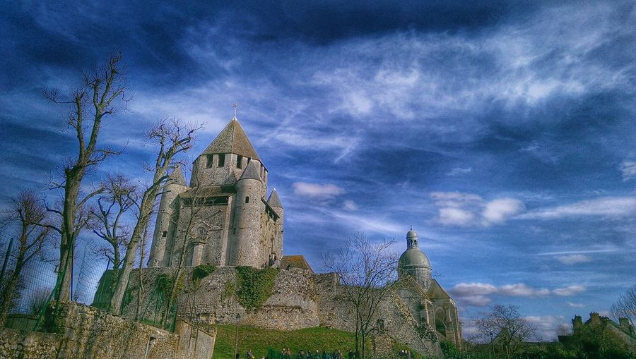 Castle Old Castle Provins Historical Building Old Age Old Architecture Chateaux Medieval In The Medieval City Château
