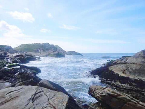This rock of beach of dreams , Itanhaem Rock Travelling Nature Beach Sun Sea Mar