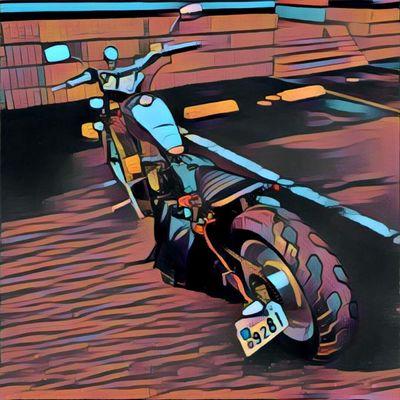 Motercycle Honda Magna50 Moterbike マグナ50
