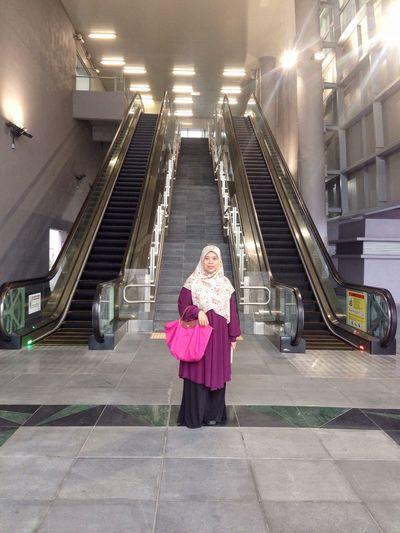 Mother. Stairs Longchamp Purpleblouse Pinkbag Escalator Mrt Press For Progress EyeEmNewHere