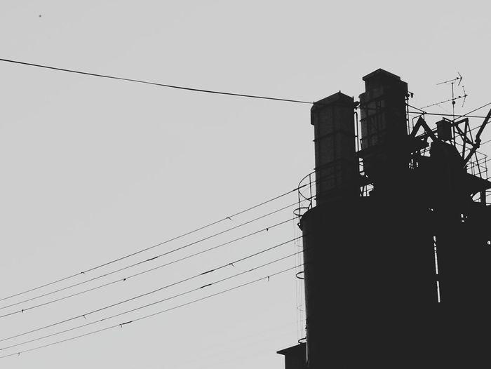 工場 モノクロ