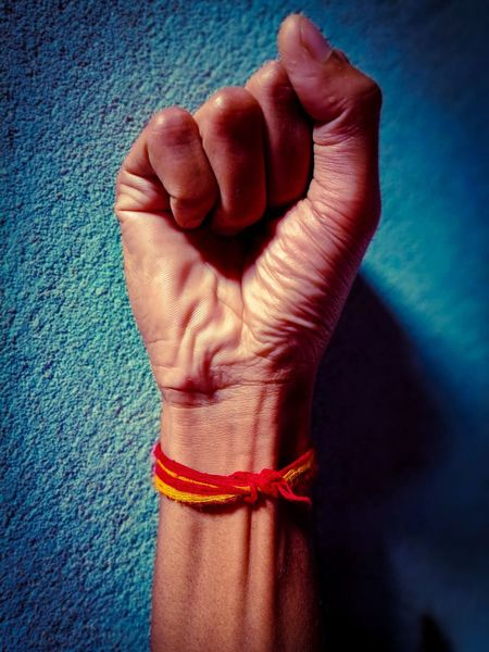 Human Body Part Human Hand Close-up Indoors  Hand Band EyeEmNewHere Be. Ready.