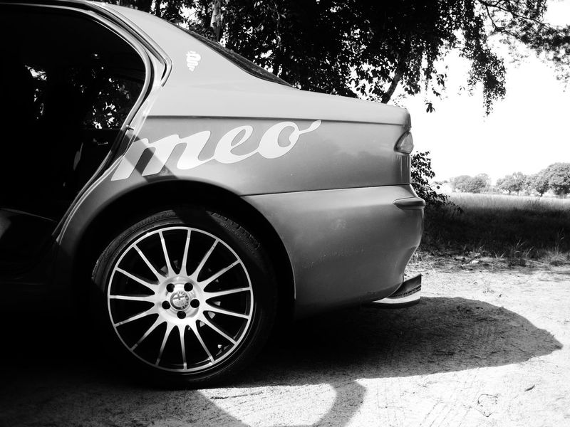 Alfa Romeo 156 V6  Black And White