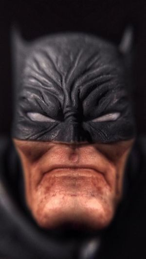 The Dark Knight! Batman TheDarkKnightReturns Macro Macro Photography Toys Toyphotography Toycommunity Toy Photography