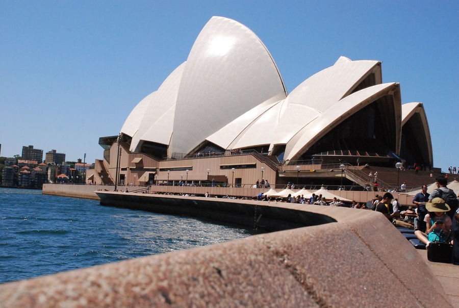 Sydney Opera House Roof Sydney Opera House Architecture Bove Building Exterior Built Structure Clear Sky