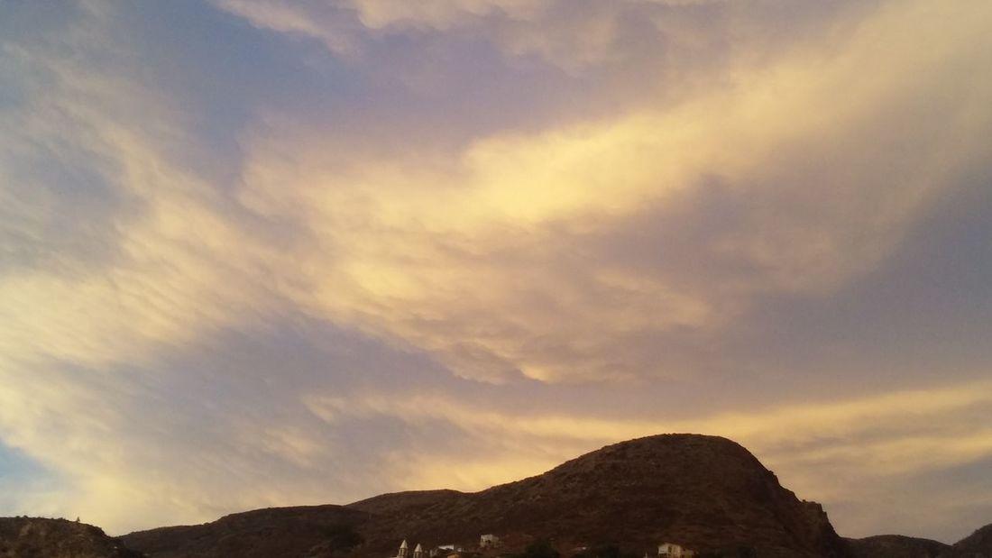 Mountain Sunset Tree Sky Landscape Cloud - Sky