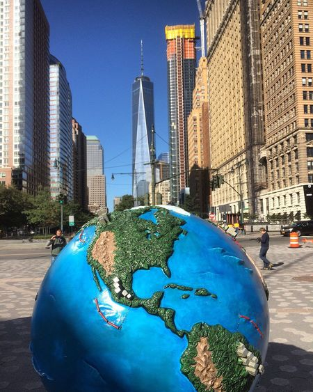 Earth Streetphotography Battery Park NYC NYC Photography My View Freedomtower New York Myview Batterypark