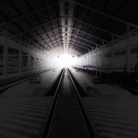 I was once lost [in the dark], until I found the light... Streetphotography EyeEmBestPics Citylife City Urbex Urban INDONESIA Aesthetics EyeEm Best Shots Eye4photography  Railwayphotography Stationphotography Explore Solo Surakarta Railroad Track Rail Transportation Transportation The Way Forward Indoors  No People Built Structure An Eye For Travel