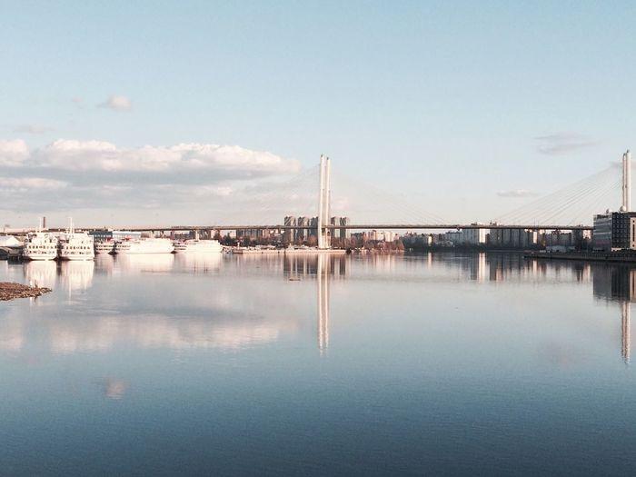 Neva river,
