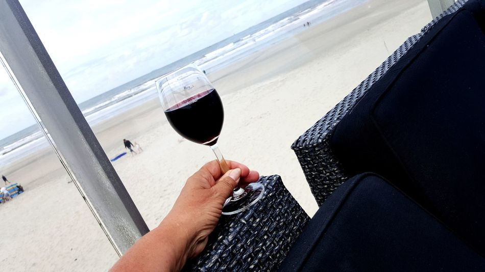 Not Wine Human Body Part Human Hand Day Wineglass Close-up Relaxing Time Relaxing Moments Relaxing View Sea Sea And Sky Thank You For Your Like Feel Free To Follow ☺