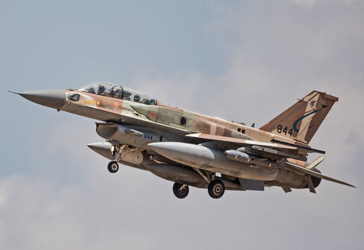 F-16I Sufa F16I IAF Israeli Air Force Sufa Air Force Aircraft Airplane Aviation Day Fighter Plane Flight Flying Military Military Airplane Outdoors Plane Sky