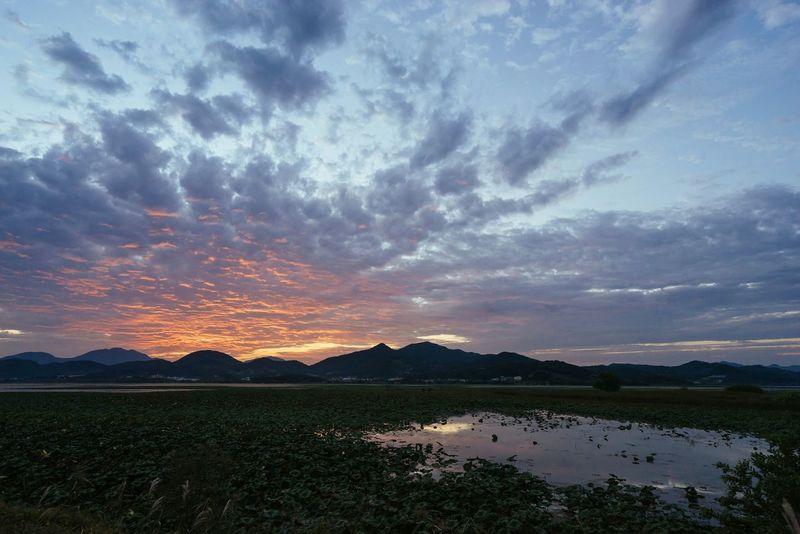 Sunset Junam Reservoir South Korea Changwon Landscape EyeEm Korea