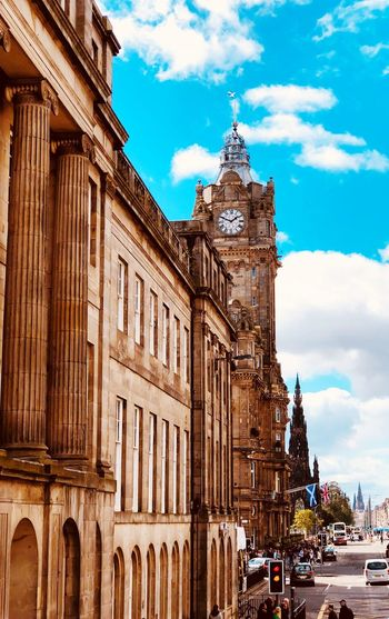 Edinburgh 2018 Edinburgh EyeEm Selects Architecture Built Structure Building Exterior Sky Building EyeEmNewHere City Travel Destinations Tower History Travel Clock Tower Outdoors