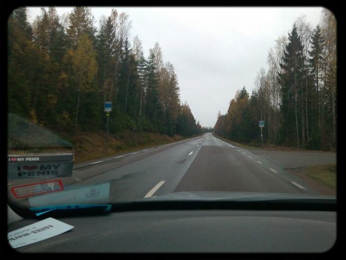 On The Road Rain Narke Sweden