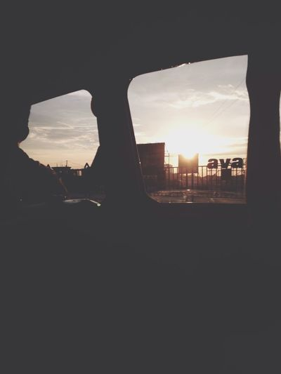 My Commute Sunsets