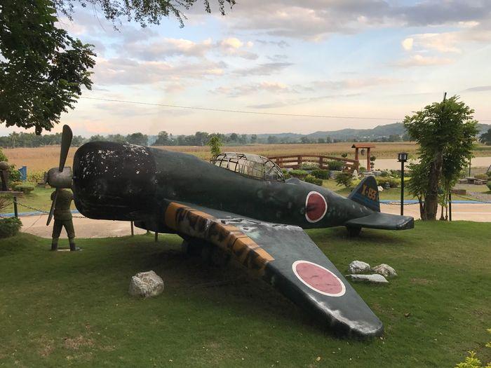 Old Japanese Plane Crashed Plane Figthing Plane