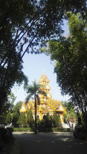 Architecture Religion Travel Destinations Place Of Worship Travel Landscape Tree Tourism Gold Colored No People Sky Gold Spirituality Outdoors Day