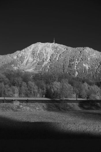 Infrared view on the Grünten mountain Allgäu Grünten Infrared Beauty In Nature Cold Temperature Infrared Photo Infrared Photography Infrarot Landscape Mountain Nature Night No People Outdoors Scenics Sky Snow Tranquil Scene Tranquility Travel Destinations Winter