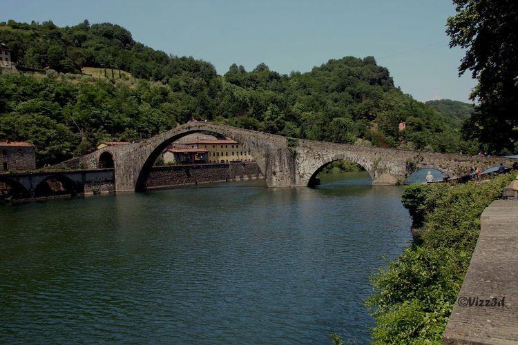 Devil's Bridge Bridge - Man Made Structure Arch Bridge Connection Built Structure Tree Water River