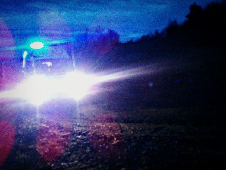 112 Hızır Acil Vaka Ambulans Colorful Night