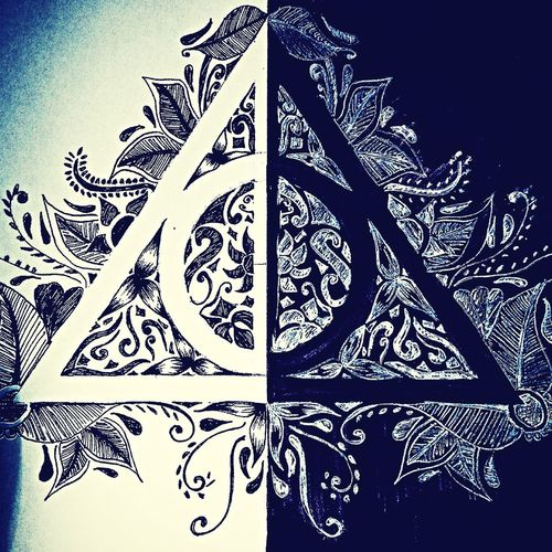 I doni della morte ~ HP Harry Potter The Deathly Hallows My Drawing