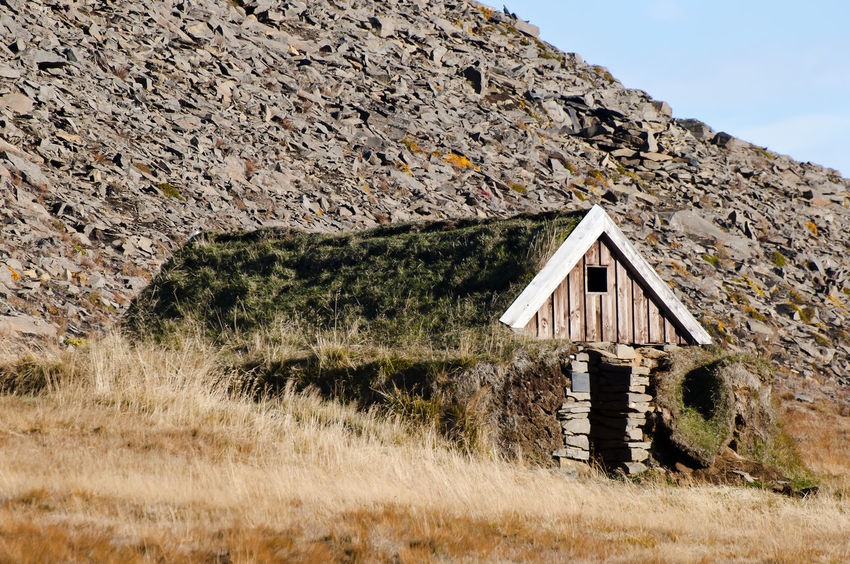 Turf House - Iceland Iceland Turf House Wood Built Structure Grass House Nature Turf