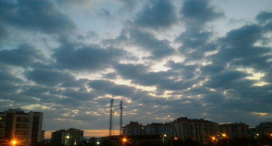Cloud - Sky Sky City Night Illuminated Nature Scenics Nature Cloud Turkey Türkiye Konya Turkey Konya Cloud And Sky Buildings Turkey ♡ Türkıye Turkiye Konya